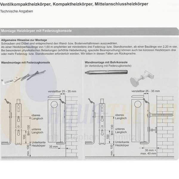 viesssmann schnellmontageset f r heizk rper typ 11 33 bauh he 500 mm ebay. Black Bedroom Furniture Sets. Home Design Ideas